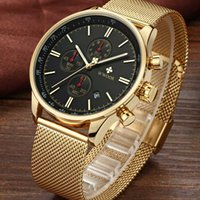 Relogio Masculino 2020 New Gold Chronograph Wristwatches Men...
