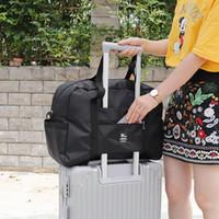 32L Capacité Bagage Sac à bandoulière Sac à bandoulière Oxford Toile de voyage Chariot De Voyage Sac à bagages Sacs à main Vêtements Sacs De Stockage Sacs Organisateur VT0691