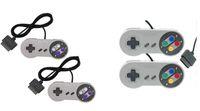 NUOVO 16 Bit Controller per Super Nintendo SNES console di sistema Control Pad