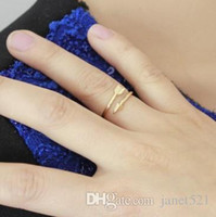 Anelli Arrow per le donne Open Gold / Tone Rings Anelli Simple Fashion Jewelry Accessories Band Rings