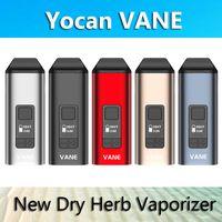 Otantik Yocan Vane Kuru Herb Buharlaştırıcı Kalem E Sigara Kitleri 1100 mAh TC OLED Ekran ile Seramik Oda% 100 Gerçek Ishred