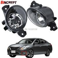 2 pcs Car styling Alto brilho luzes de nevoeiro LED DRL luzes Para Nissan Versa 2012-2015 Para NISSAN TEANA 2004-2014 Lâmpada de halogéneo