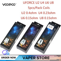 5- 10pcs VOOPOO Uforce U2 U4 U6 U8 Replacement Coil For Voopo...