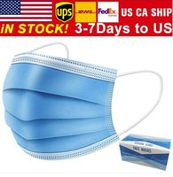 Free shipping 3- 7 days to US Disposable Face Masks with Elas...