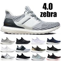 c009e2bde4961 Designer Ultra boost 3.0 4.0 Running Sneakers Men Women Zebra Core Black  Navy Multi Color Legend Ink Ultraboost Sport Shoes 5-11