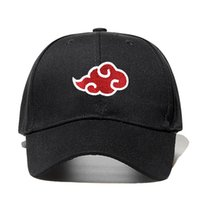 100% Cotton Japanese Akatsuki Logo Anime Naruto Dad Hat Uchi...