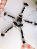 2020 DHL-freier Naturstein Tragbarer Pratical Jade Gesichtsmassage Roller Gesunden Gesicht Körper Hauptfußhaut Natur Schönheit Werkzeuge