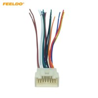 Estéreo FEELDO la radio de coche 16Pin Mazo de cables para Mitsubishi / Lancer / Ford Relevante Instalación del mercado de accesorios estéreo Unidad # 1578