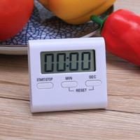 99 دقيقة LCD الرقمية الموقت المطبخ العد التنازلي حتى الساعة الصاخبة المنبه مغناطيس ساعة DIY المطبخ فرن الطبخ الموقت