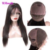 360 volle Spitze-Menschenhaarperücken 150% 210% Dichte 10a brasilianisches reines Haar des vollen Haares volle Spitzeperücken für Frauen Perruques de cheveux humains