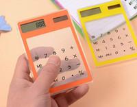 Calculatrice solaire de base Calculatrice scientifique étudiante Cadeaux pour le personnel de l'école