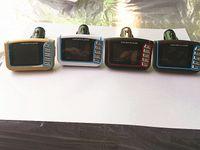 1,8 Zoll CSTN Auto MP3 MP4 Spieler FM Übermittler Stereo drahtloses 1,8 LCD Sd MMC Infrarotfernmehrsprachiges freies Verschiffen