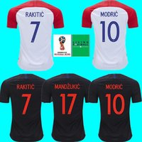 2018 World cup Designed for CroATia home Soccer Jersey MODRI...