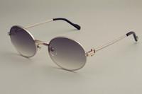 2019 جديد ضوء فائقة الجولة الرجعية النظارات الشمسية 1188008 أزياء الرجال نموذج الذهب النظارات الشمسية، واقي من الشمس