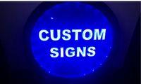 تصميم الخاصة بك RGB مخصص أدى متعدد الألوان لاسلكية إشارة تحكم النيون هدية الخاصة