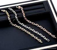 pulseras brazaletes de la joyería de diseñador de moda de diseño de alta calidad para hombres y mujeres pulseras de plata de acero inoxidable