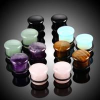 Unisex Ear Plugs Mode Körper Schmuck Taper und Plug-Top-Qualität Ohr-Bahre Hot Verkauf