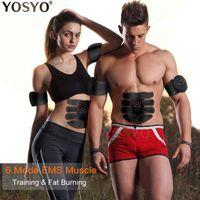 SME stimolatore muscolare Trainer smart fitness addestramento addominale Body Electric peso che dimagrisce dispositivo senza SCATOLA AL MINUTO