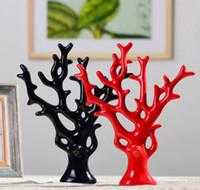 Moda Prezent Ślubny Dom Ozdoby Dekoracje Domowe Ozdoby ceramiczne Wyświetlanie Bogactwa Drzewo