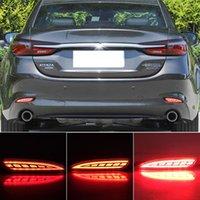 2 STÜCKE Reflektor Hinterer Lampe Auto LED Nebel Bumper Brake Light Dynamisches Signal für Mazda 6 Atenza für Mazda 3 Hatchback 2019 2020