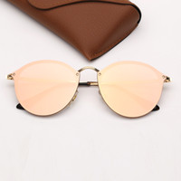 مصمم النظارات الشمسية النساء أزياء العلامة التجارية نظارات شمسية القط رجل عين شمس ديس هلالية دي سولي مع حالة UV400 حماية العدسات جلدية