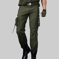 CARGO PANTS Overalls Men Millitary Clothing TACTICAL PANTS M...