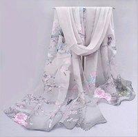 أزياء المرأة الشيفون وشاح الرقبة شال وشاح والأوشحة التفاف سرق دافئ هدية NEW