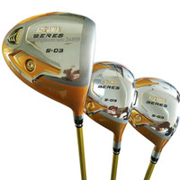Nuevo HONMA Golf Clubs S-03 Golf Wood 135 4Star wood Set driver Clubs Golf Graphite Eje de eje R o S Envío gratis