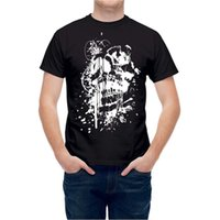 T- shirt Creepy Skull Paint T24454 Men Women Unisex Fashion t...