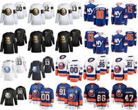 New York Islanders 2020 All-Star Hockey maglie 44 Jean-Gabriel Pageau 4 Andy Greene Mathew Barzal Anders Lee Matt Martin personalizzato cucito