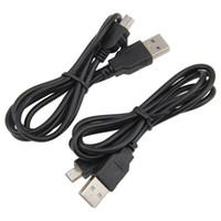 Los datos cable de carga USB Cable Adaptador de USB macho a Mini 5 Pin B para MP3 MP4 del coche DVR de la cámara del GPS HDD Mini USB Cables