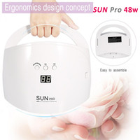 Portable 48W SUN Pro Nail Dryer UV LED Nail Lamp Gel Polish ...