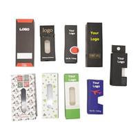 OEM Packging Box imballaggio su misura di sicurezza per Thick Oil Vape cartucce pre-roll OEM Adesivi personalizzati Childproof Packaging Costom Box
