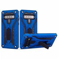 Hybrid Barror Cass Cover Citch Accstand для Samsung S10 S10E S9 J8 M10 M20 M30 A9 A30 A50 A60 A30 / A20 Core
