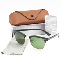 Sıcak Satış Tasarımcı Güneş Yüksek Kalite Metal Menteşe Güneş Erkekler Gözlük Kadınlar Güneş Orijinal vaka ve kutu ile UV400 mercek Unisex gözlük