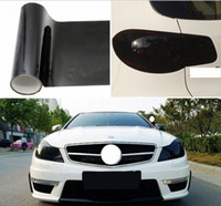 0.3x10m / 롤 자동차 라이트 헤드 라이트 틴트 필름 테일 램프 색조 보호 스티커 12 색