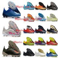 2021 zapatos de fútbol Clases para hombre x 19+ FG Original 18 Botas de fútbol Botas al aire libre Scarpe da Calcio de alta calidad Nemeziz