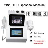 휴대용 Liposonix ultrashape 기계 초음파 치료 얼굴 리프트 초음파 기계 높은 강도 집중 ultrasoud HIFU SMAS