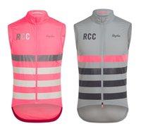 RCC 2019 di alta qualità ciclismo Gilet equitazione Gilet antivento senza maniche in jersey antivento ciclismo giacche outdoor in bicicletta i vestiti del vento