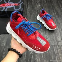 w1 Chain Reaction Casual Designer Sneakers Sport Fashion Cas...