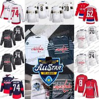 2020 All Star capitales de Washington Braden Holtby Alex Ovechkin John Carlson Evgeny Kuznetsov Jakub Vrana Connolly Nicklas Backstrom Jersey