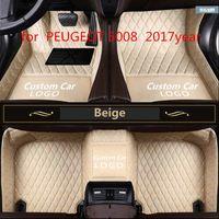 for PEUGEOT 5008 2017year non-slip non-toxic foot pad car foot pad