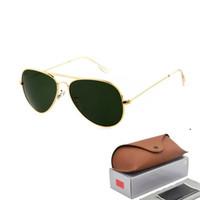 Wholesale ray bans sunglasses online - Hot Sale Aviator Sunglasses RAY  Vintage Pilot Brand Sun Glasses ac10c0d242