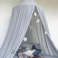 Letto per bambino Copriletto a baldacchino Letto per zanzariere Biancheria da letto per tende Tenda a cupola Kisd Room Decor Rete da letto