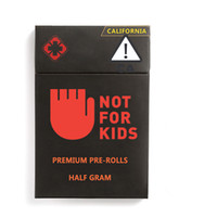 Logo personalizzato Childproof Scatole per imballaggio con la finestra laterale del pacchetto di bolla magnetica di sicurezza per Vape carrelli pre-roll su misura Packaging Box