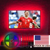 블루투스 APP LED 스트립 5V 3M * 4 30LEDs / M의 USB 전원으로 재고 미국 + LED TV 백라이트 스트립 SMD5050 RGB 음악