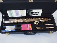 Qualità sassofono diritta Yanagisawa S-992 suonare professionalmente Giappone Sassofono soprano argentato strumento BB Free Music