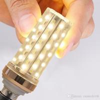 E27 E14 LED erik Mısır lamba yüksek güç 12 W 16 W 20 W 24 W Smd2835 Erik ampul avize mum LED ışık Ev Dekorasyon için CRESTECH