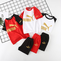 Baby Boy Clothes Clothing Suit New Children Split Joint Moti...