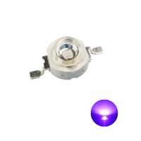 Высокая мощность светодиодный чип 1W 3W 5W UV и 3W полный спектр растений лампы (полоса 365 нм-395nm) SMD COB оптический светодиод устройства
